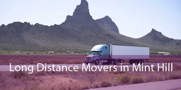 Long Distance Movers in Mint Hill